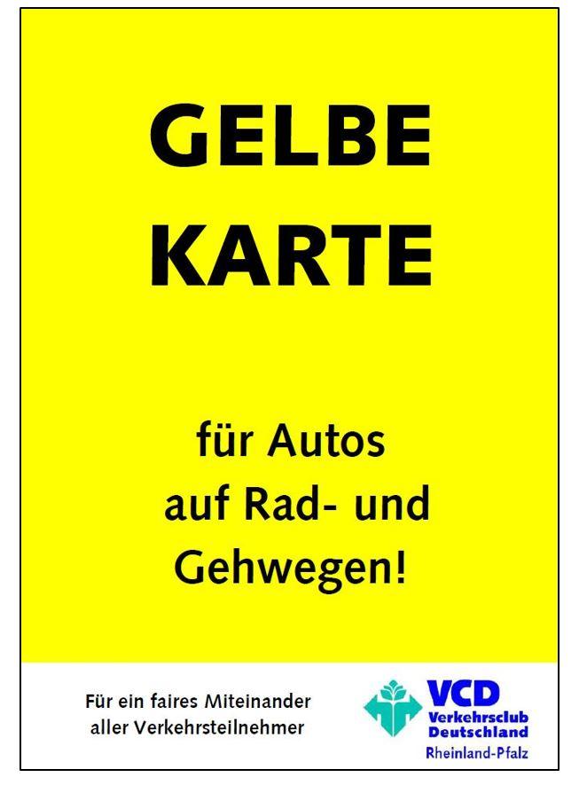 Gelbe Karten Deutschland